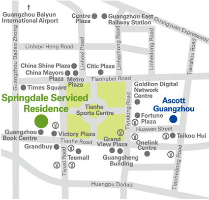 Springdale Serviced Residence Guangzhou Ascott China